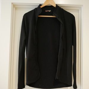 Prada Sport Black Zip Up Jacket